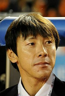 Shin Tae-Yong in AFC Champions League 2010 Final.jpg