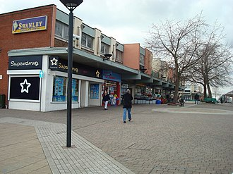 Swanley - Swanley shopping centre in 2008