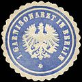 Siegelmarke 1. Garnisonarzt in Berlin W0285524.jpg