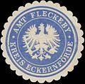 Siegelmarke Amt Fleckeby Kreis Eckernförde W0360451.jpg