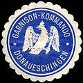Siegelmarke Garnison-Kommando Donaueschingen W0288112.jpg