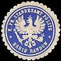 Siegelmarke Königlich Preussisches Standesamt Pölitz - Kreis Randow W0245469.jpg
