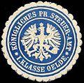 Siegelmarke Königliches Preussisches Steuer - Amt I. Klasse Oelde W0234833.jpg