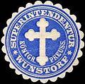 Siegelmarke Königreich Preussen - Superintendentur Wunstorf W0239536.jpg