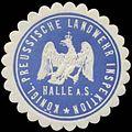 Siegelmarke K.Pr. Landwehr Inspektion Halle-S. W0348244.jpg