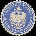 Siegelmarke K. Marine Direction der Deckoffizierschule W0337670.jpg