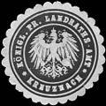 Siegelmarke K. Pr. Landraths - Amt - Bad Kreuznach W0215328.jpg