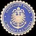 Siegelmarke Kaiserliche Marine - Kommando S. M. S. Vineta W0216114.jpg