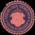 Siegelmarke Siegel der Gemeinde Olbersdorf W0320652.jpg