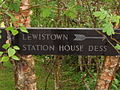 Sign for Lewistown and Station House Dess - geograph.org.uk - 811462.jpg