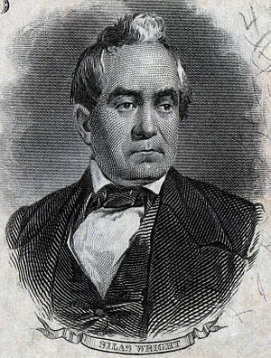 Silas Wright - Image: Silas Wright, Jr. (Engraved Portrait)