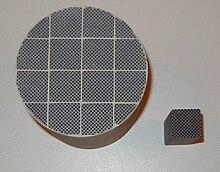 Px Siliziumkarbid Partikelfilter on Diesel Filter