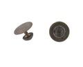 Silverknappar, 1800-talets sista hälft - Hallwylska museet - 109699.tif