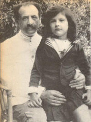 Simone Weil -  Weil with her father