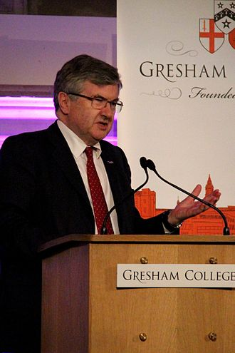 Richard J. Evans - Evans in his role as Provost of Gresham College