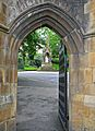 Sir Titus Salt, seen through the Norman Arch (2536558049).jpg