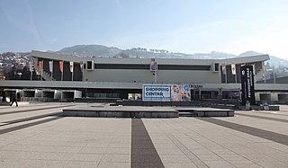 Mirza Delibašić Hall Sports venue in Sarajevo