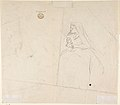 Sketch of Two Seated Women with Young Girl Sitting at Their Feet; Verso- Sketch of a Woman MET DP800923.jpg