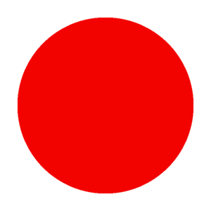 Kanin-Sella Nevea Ski Resort - Image: Ski trail rating symbol red circle