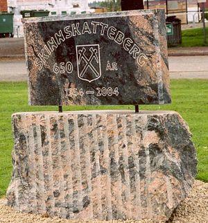 Skinnskatteberg - Image: Skinnsberg 650 år