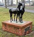 Skulptur Schönblicker Str (RahndWil) Junge Pferde&Heinrich Drake&.jpg