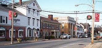Smyrna, Delaware - South Main Street in Smyrna