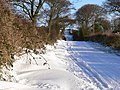 Snow Covered Road - geograph.org.uk - 1624565.jpg