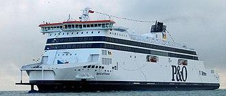 MS Spirit of France - Image: So F Dover