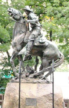 Rough Rider Monument