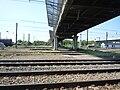 Somain - Vestiges de l'ancien pont minier à côté du pont de Traisnel.JPG