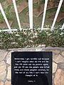 Sometimes I Get Terribly Sad - Plaque of Genocide Survivors Testimony - Genocide Memorial Center - Kigali - Rwanda.jpg