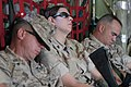 Somewhere over Iraq, US Marine Corps (USMC) Captain (CPT) Mark Birk (left), Maintenance Officer, Special Purpose Marine Air Ground Task Force, Maritime Prepositioning Force (SPMAGTF - DPLA - 1af868a022a34781111fad01664429ba.jpeg