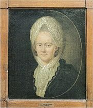 Marie Sophie von La Roche, painting by Georg Oswald May, 1778