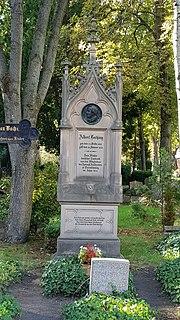 Grabmal auf dem Sophien-Friedhof II. in Berlin-Mitte (2020) (Quelle: Wikimedia)
