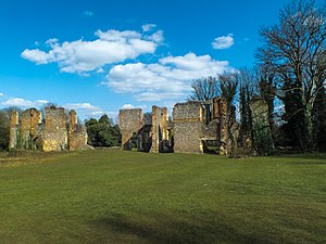 Sopwell Priory - Image: Sopwell Nunnery St Albans