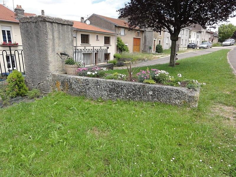 Sornéville (M-et-M) fontaine