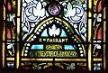 Sourzac église vitrail transept nord signature.JPG