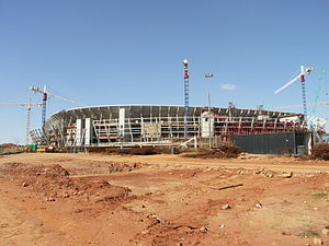 FNB Stadium - Image: South Africa Johannesburg Soccer City 001