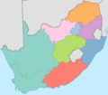 South Africa - Provincial Majority Languages.png