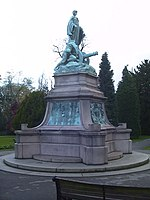 South African War Memorial Statue - Cannon Hill Park - geograph.org.uk - 807866.jpg