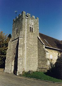 St Mary S Church South Stoneham Wikipedia
