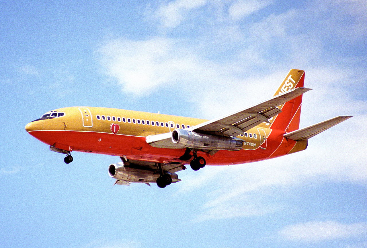 File Southwest Airlines Boeing 737
