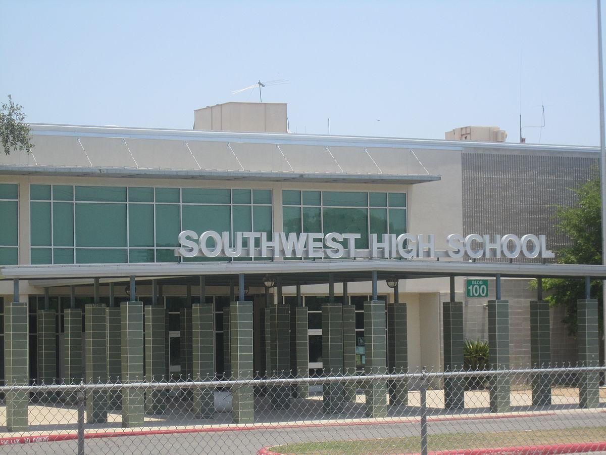 Map Of Texas High Schools.Southwest High School San Antonio Wikipedia