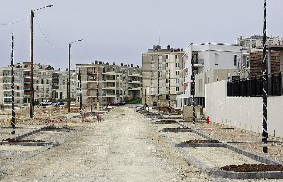 Works in progress, Soyaux, Charente, France.
