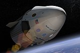 SpaceX Dragon v2 (Crew) artist depiction (16787988882)