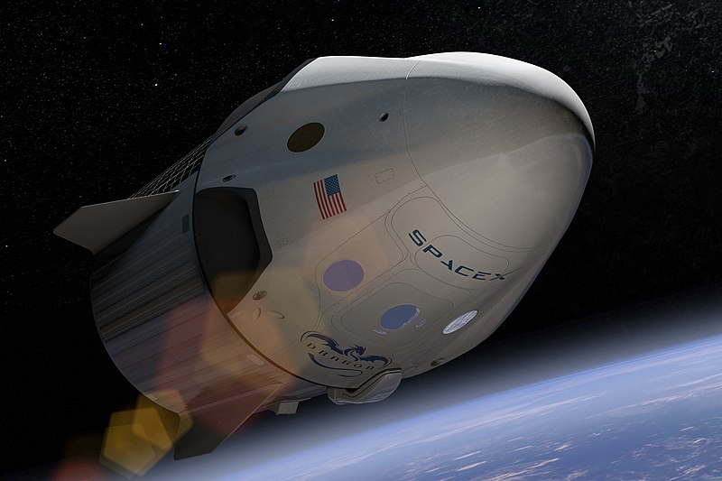 File:SpaceX Dragon v2 (Crew) artist depiction (16787988882).jpg