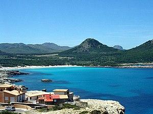 Cala Agulla, Mallorca, Spain Selbst fotografiert
