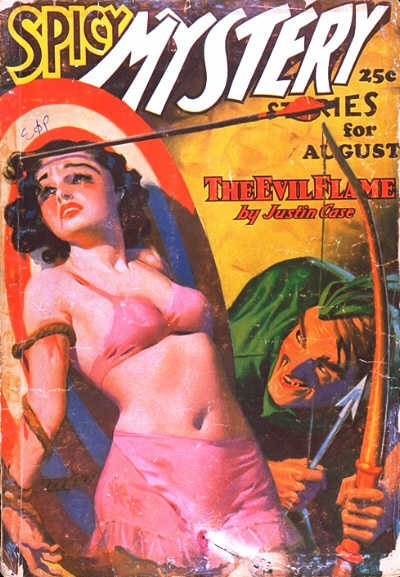 Spicy Mystery Stories August 1936