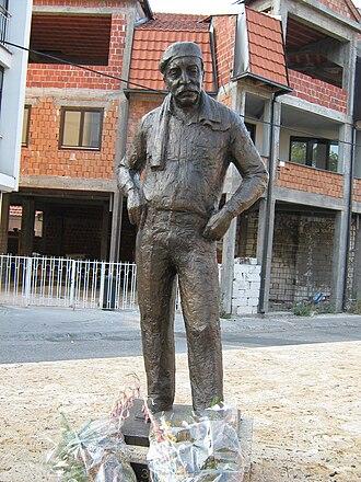 Zoran Radmilović - Radmilović's statue in his hometown Zaječar got erected in April 2008.