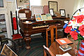 Square pianos with desktop radio - Logan County Museum (2015-07-03 14.37.54 by Tonya Stinson).jpg